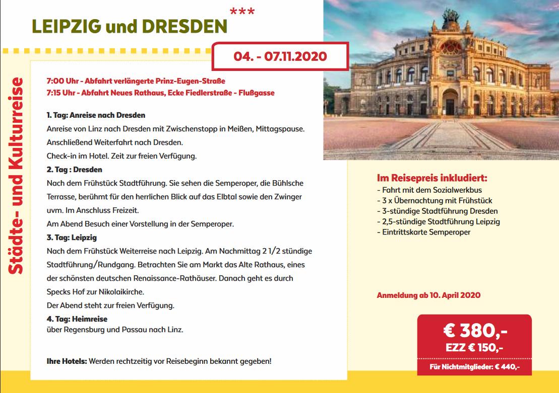 Leiopzig-Dresden Reise